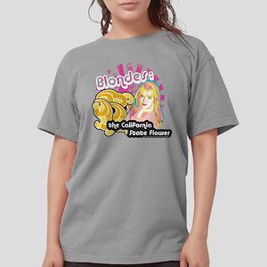 90210 Blondes Californ Womens Comfort Colors Shirt
