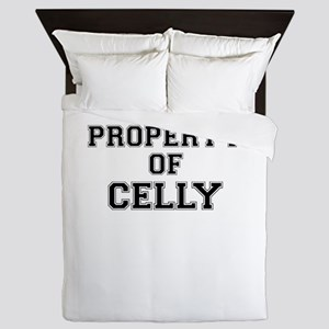 Property of CELLY Queen Duvet