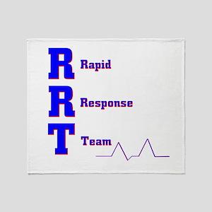 Rapid Response Team Throw Blanket