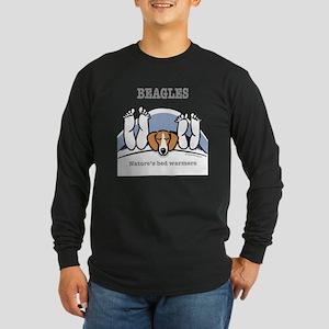 Beagle bed warmers Long Sleeve T-Shirt