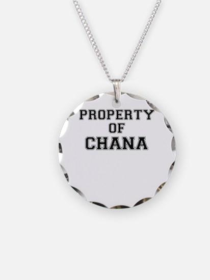 Property of CHANA Necklace