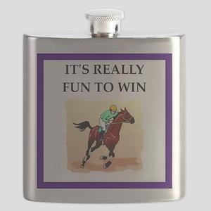 Horse racing joke Flask