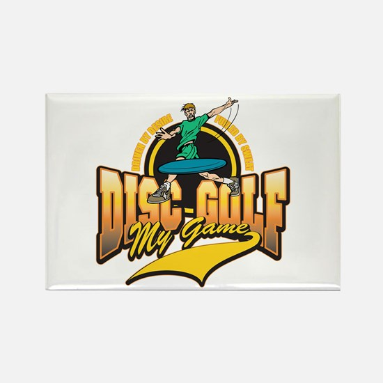 Disc Golf My Game Rectangle Magnet (10 pack)