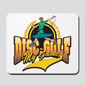 Disc Golf My Game Mousepad