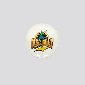 Disc Golf My Game Mini Button (10 pack)