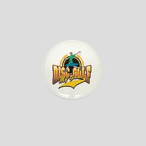 Disc Golf My Game Mini Button (10 pack)