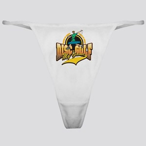 Disc Golf My Game Classic Thong