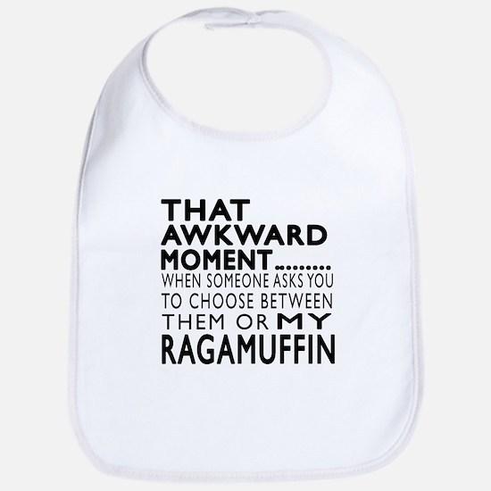 Awkward Ragamuffin Cat Designs Bib