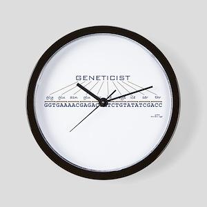 Geneticist Wall Clock