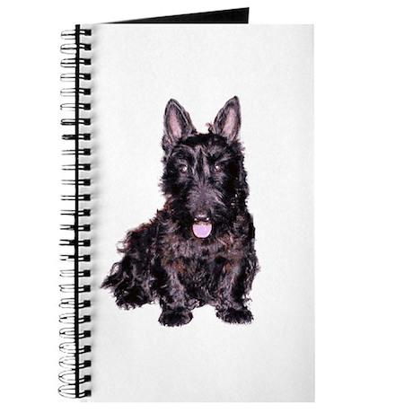 Scottish Terrier Black Journal