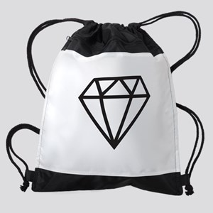 580e3dbd37 Diamond Drawstring Bags - CafePress