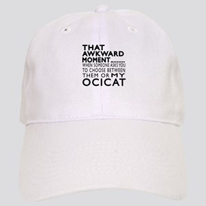 Awkward OciCat Designs Cap