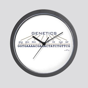 Genetics Wall Clock