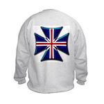 British Biker Cross Kids Sweatshirt