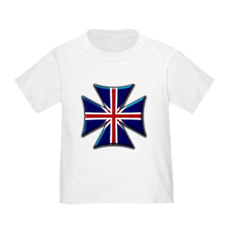 British Biker Cross Toddler T-Shirt
