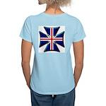 British Biker Cross Women's Light T-Shirt