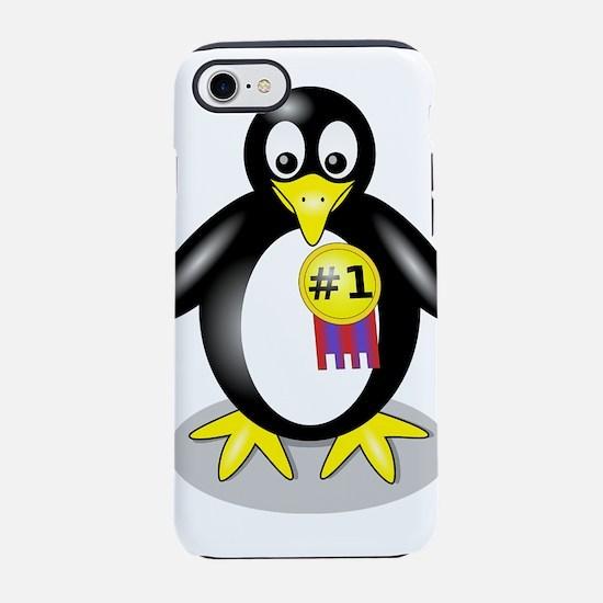 1st Place Penguin iPhone 8/7 Tough Case