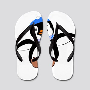 Winter Wear Baby Penguin Flip Flops