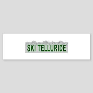 Ski Telluride Bumper Sticker