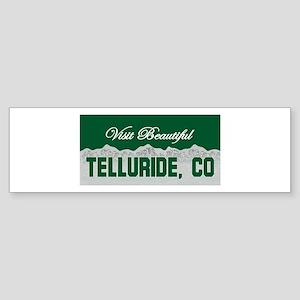 Visit Beautiful Telluride, Co Bumper Sticker