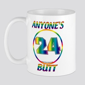 0011A Jeff Gordon 24 Anyone's Butt Mug