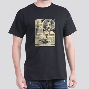Mark Twain Mini Biography T-Shirt