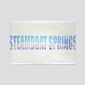 Steamboat Springs, Colorado Rectangle Magnet