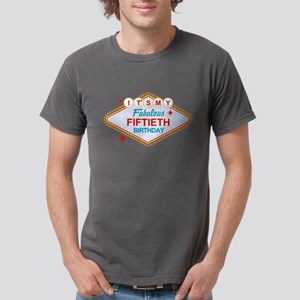 Las Vegas 50th Birthday Mens Comfort Colors Shirt