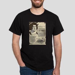 Christopher Columbus Mini Biography T-Shirt