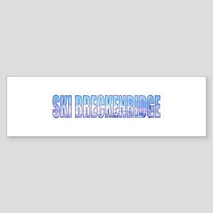 Ski Breckenridge Bumper Sticker