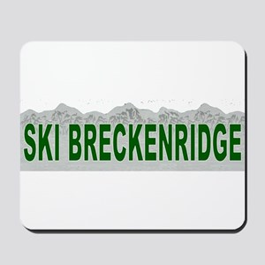 Ski Breckenridge Mousepad