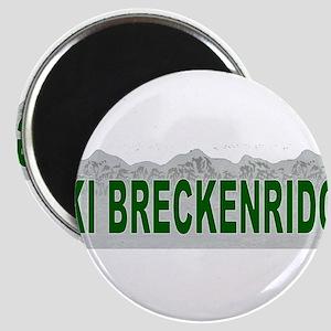 Ski Breckenridge Magnet
