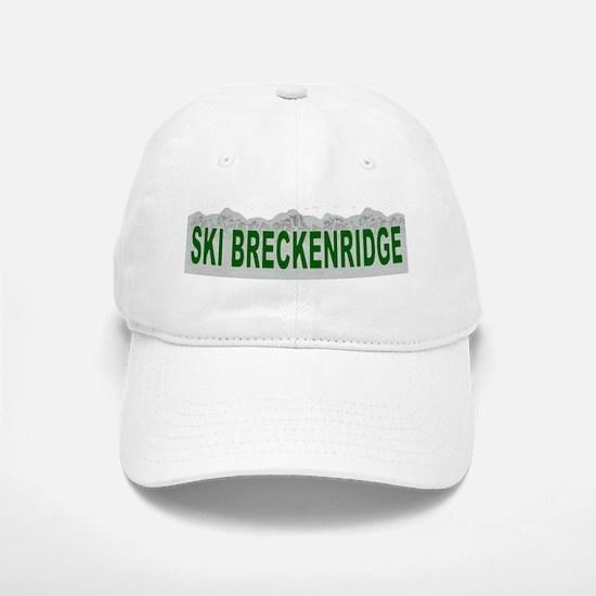Ski Breckenridge Baseball Baseball Cap
