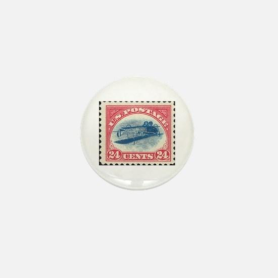 Unique Stamp collecting Mini Button