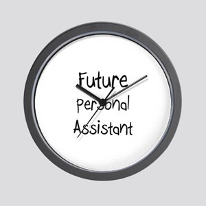 Future Personal Assistant Wall Clock