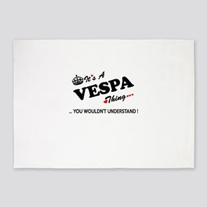 VESPA thing, you wouldn't understan 5'x7'Area Rug