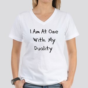 Duality Women's V-Neck T-Shirt