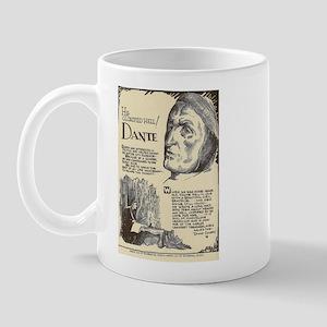 Dante Mini Biography Mugs