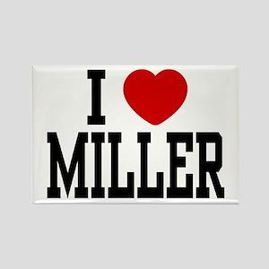 I <3 Miller Rectangle Magnet