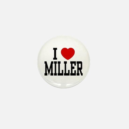 I <3 Miller Mini Button