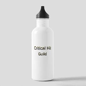 Critical Hit Dark Water Bottle