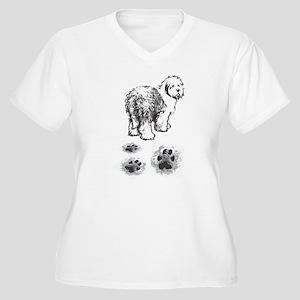 Frontelementer front Plus Size T-Shirt