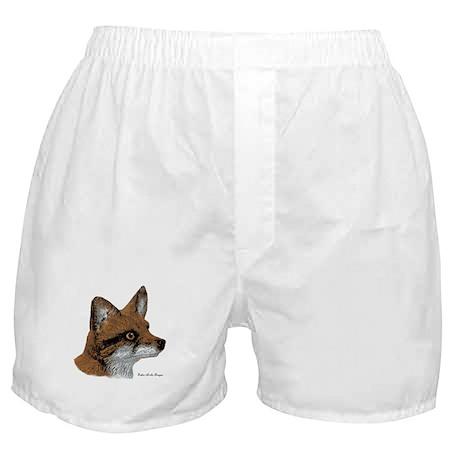 Fox Profile Design Boxer Shorts
