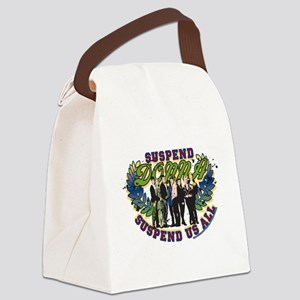 90210 Donna Suspend Us All Canvas Lunch Bag