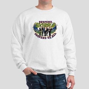 90210 Donna Suspend Us All Sweatshirt