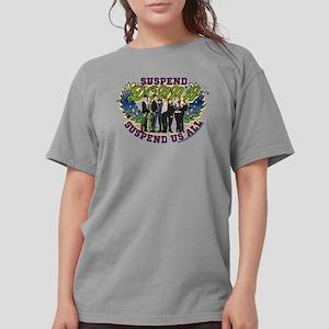 90210 Donna Suspend Us Womens Comfort Colors Shirt