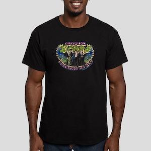 90210 Donna Suspend Us Men's Fitted T-Shirt (dark)