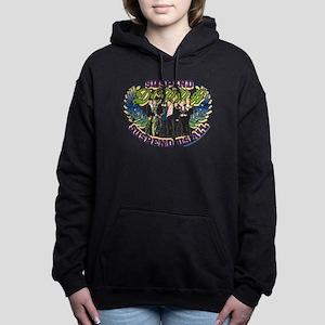 90210 Donna Suspend Us A Women's Hooded Sweatshirt