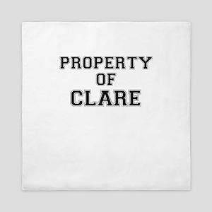 Property of CLARE Queen Duvet