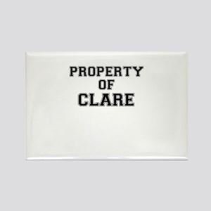 Property of CLARE Magnets